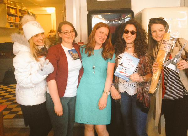 L-R: Sherise as Maggie, Beth as Rachel, me, Christina as Lily and Fran as Poppy. Amazing.